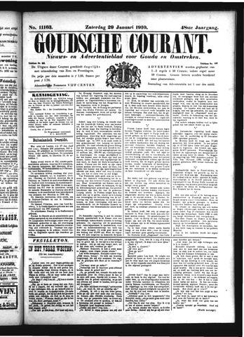 Goudsche Courant 1910-01-29