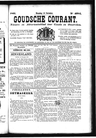 Goudsche Courant 1891-11-16