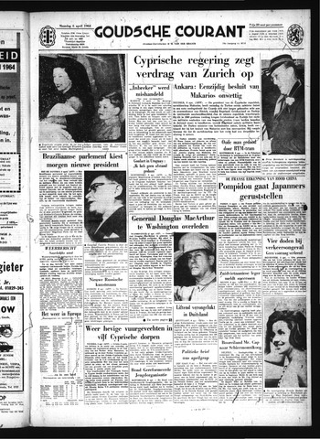 Goudsche Courant 1964-04-06