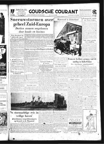 Goudsche Courant 1954-01-12