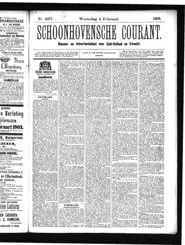 Schoonhovensche Courant 1903-02-04
