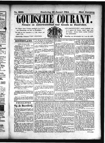 Goudsche Courant 1894-01-25