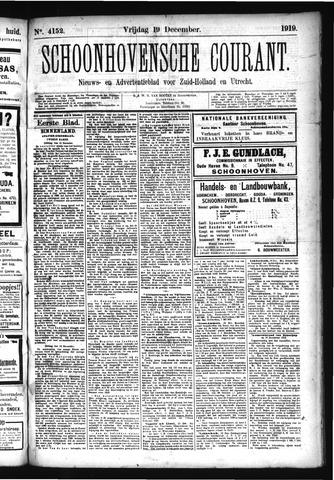 Schoonhovensche Courant 1919-12-19