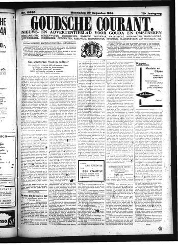 Goudsche Courant 1934-08-29