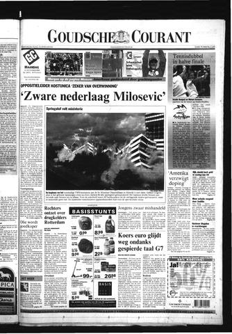 Goudsche Courant 2000-09-25