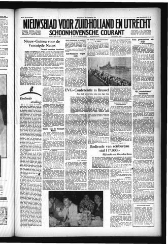 Schoonhovensche Courant 1954-08-18