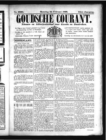 Goudsche Courant 1896-02-24