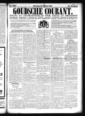 Goudsche Courant 1932-01-25