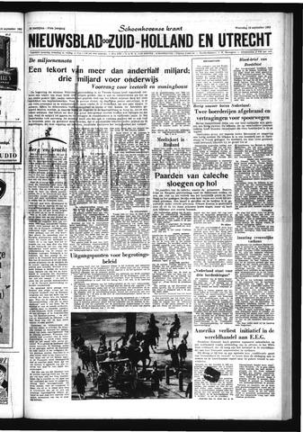 Schoonhovensche Courant 1963-09-18