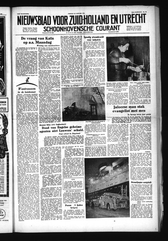 Schoonhovensche Courant 1953-01-30