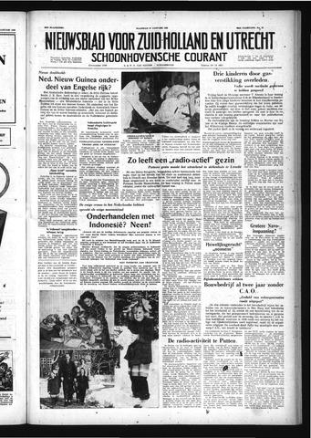 Schoonhovensche Courant 1958-01-27