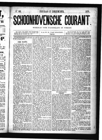 Schoonhovensche Courant 1876-12-17