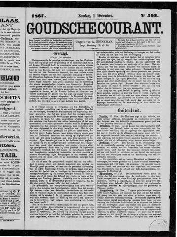 Goudsche Courant 1867-12-01