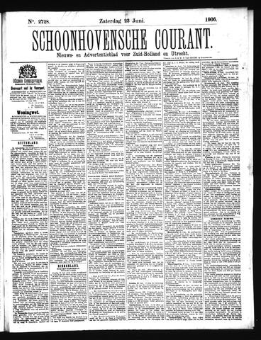 Schoonhovensche Courant 1906-06-23