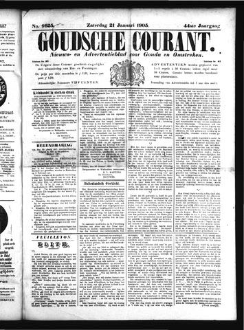 Goudsche Courant 1905-01-21