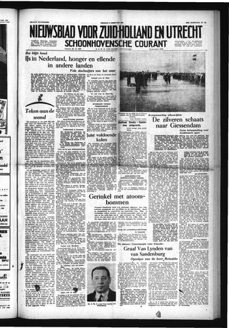 Schoonhovensche Courant 1954-02-05