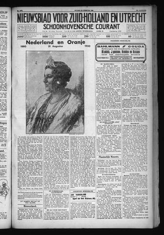Schoonhovensche Courant 1930-08-29