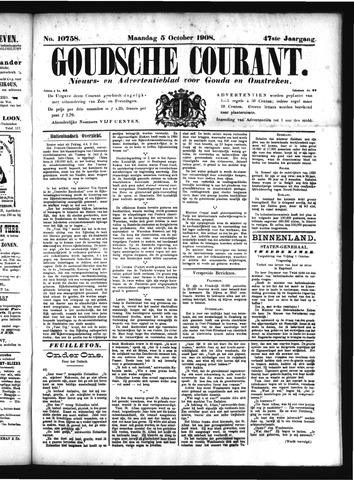 Goudsche Courant 1908-10-05