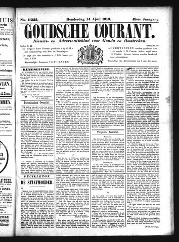 Goudsche Courant 1910-04-14