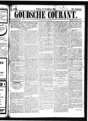 Goudsche Courant 1920-11-26