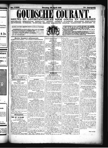 Goudsche Courant 1931-04-28