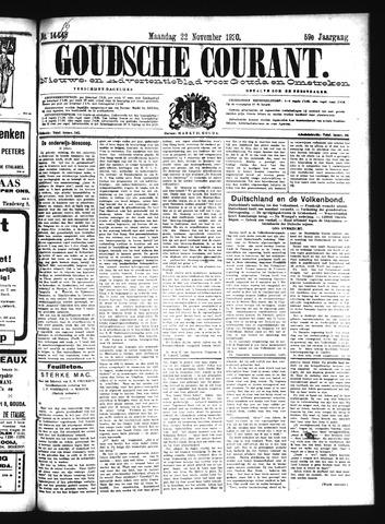Goudsche Courant 1920-11-22