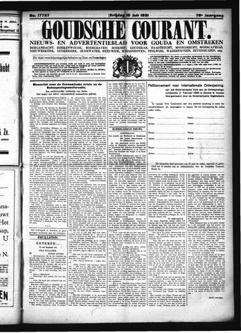Goudsche Courant 1931-07-10