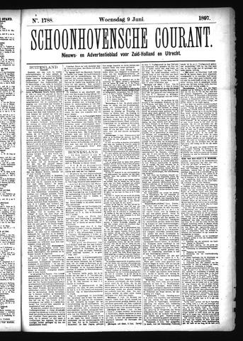 Schoonhovensche Courant 1897-06-09