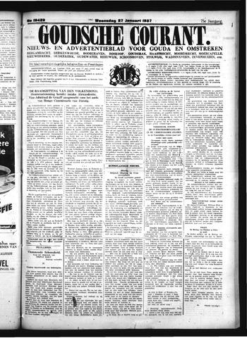 Goudsche Courant 1937-01-27