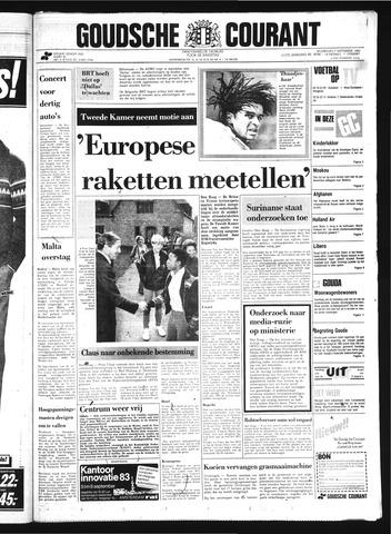 Goudsche Courant 1983-09-07