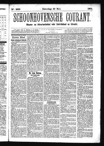 Schoonhovensche Courant 1908-05-30
