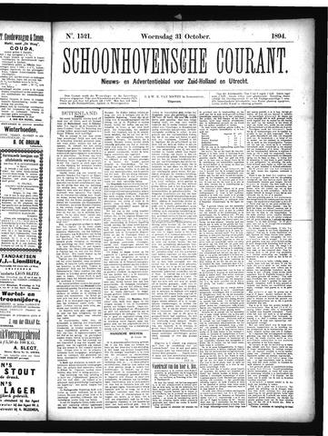 Schoonhovensche Courant 1894-10-30