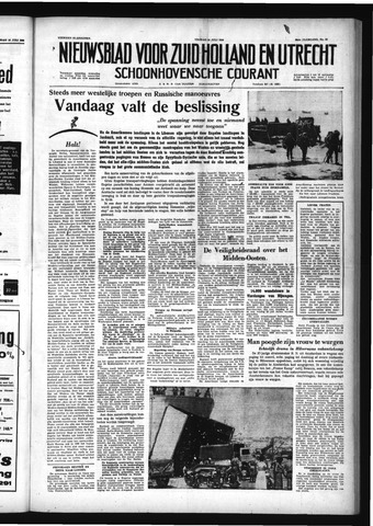 Schoonhovensche Courant 1958-07-18
