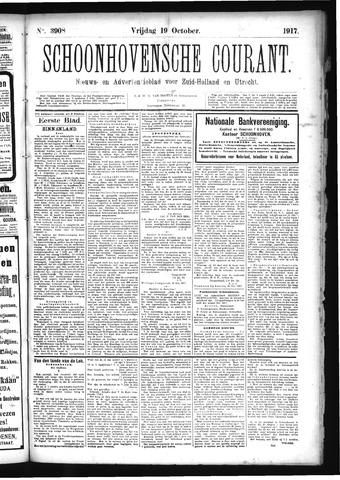 Schoonhovensche Courant 1917-10-19