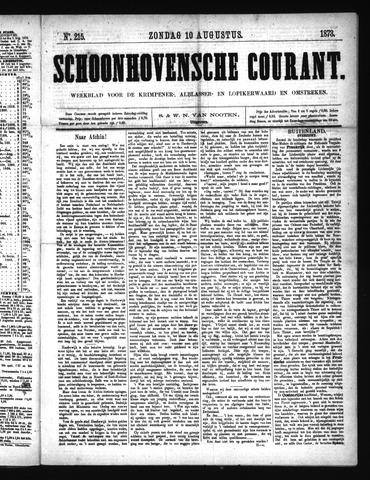 Schoonhovensche Courant 1873-08-10
