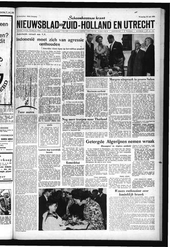 Schoonhovensche Courant 1962-05-23