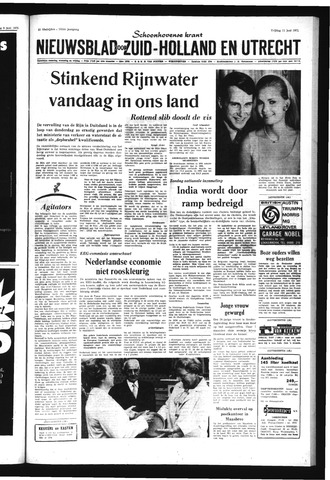 Schoonhovensche Courant 1971-06-11