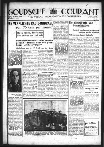 Goudsche Courant 1940-12-27