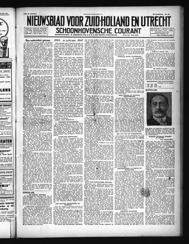 Schoonhovensche Courant 1947-01-20