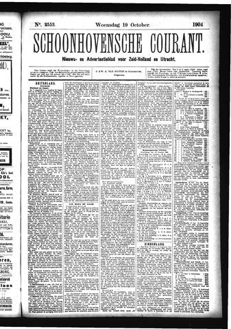 Schoonhovensche Courant 1904-10-19