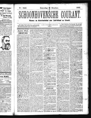 Schoonhovensche Courant 1902-10-25