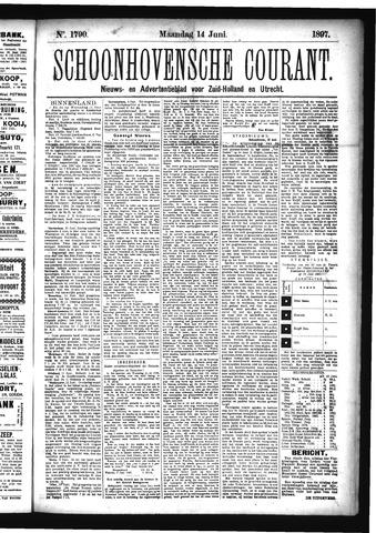 Schoonhovensche Courant 1897-06-14