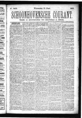 Schoonhovensche Courant 1913-06-18