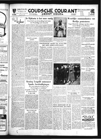 Goudsche Courant 1950-01-27