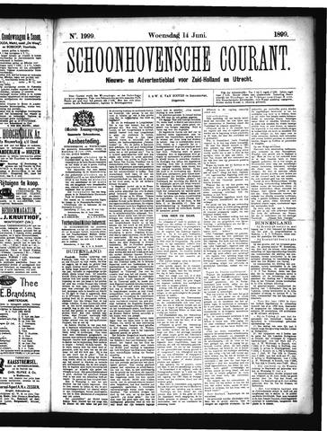 Schoonhovensche Courant 1899-06-14
