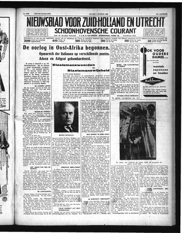 Schoonhovensche Courant 1935-10-04