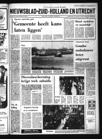 Schoonhovensche Courant 1977-12-28