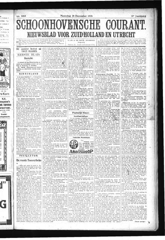 Schoonhovensche Courant 1925-12-28