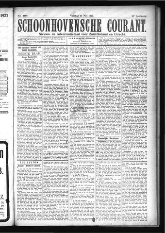 Schoonhovensche Courant 1923-05-11