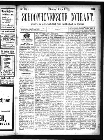 Schoonhovensche Courant 1917-04-03